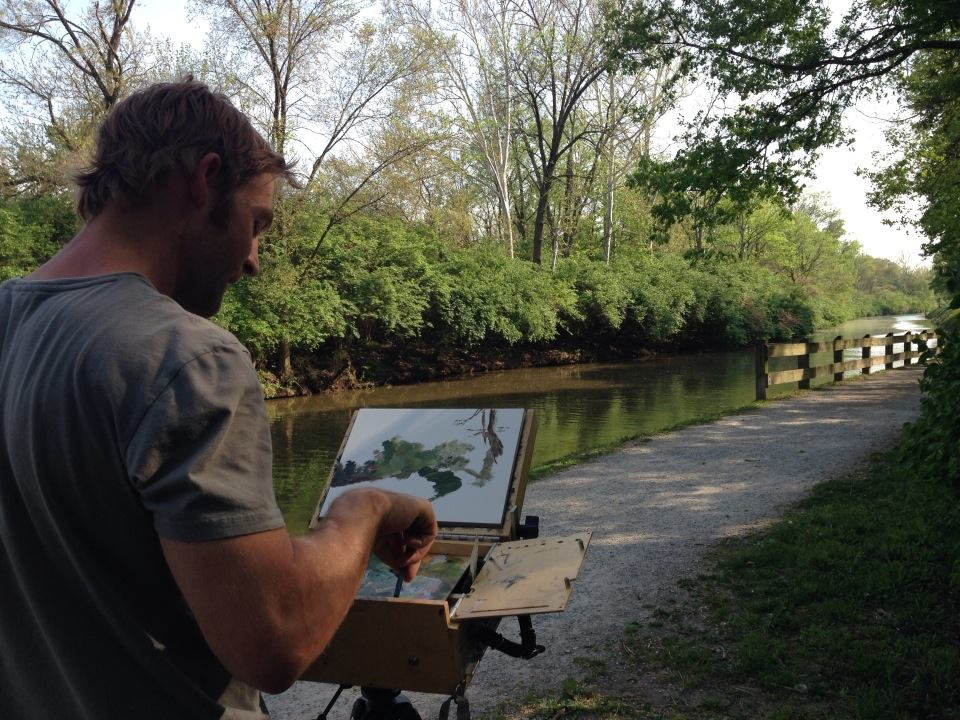 painting on Canal (2)